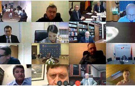 Евгений Царев принял участие в конференции «Механизмы поддержки кооперационных проектов и поддержки спроса на продукцию ЕАЭС»