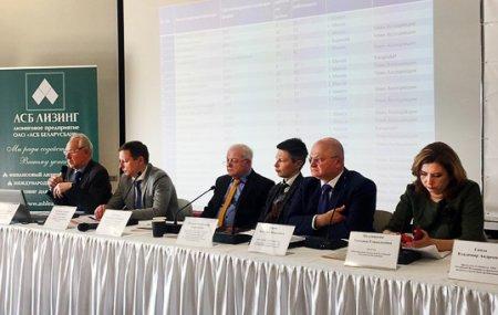 17 апреля 2019 года в Минске Евгений Царев принял участие в пленарном заседании традиционного ежегодного мероприятии по подведению итогов работы лизинговой отрасли и рейтинга лизинговых организаций Республики Беларусь