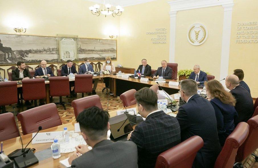 На встрече Сергея Катырина с активом Совета ТПП РФ по финансово-промышленной и инвестиционной политике определены задачи на ближайшую перспективу