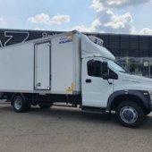 На условиях финансовой аренды отгружен изотермический фургон на шасси ГАЗон NEXT